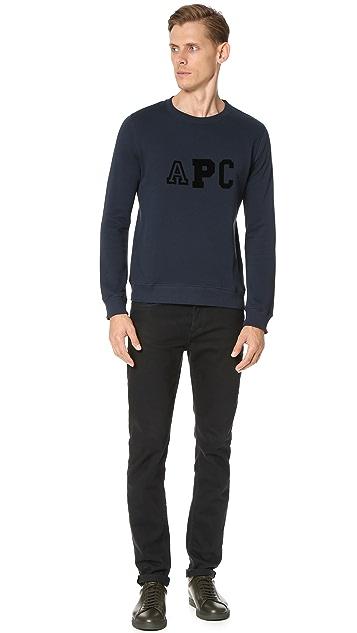 A.P.C. College Sweatshirt