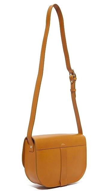 A.P.C. June Saddle Bag