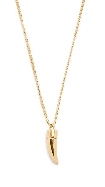 A.P.C. Horn Necklace