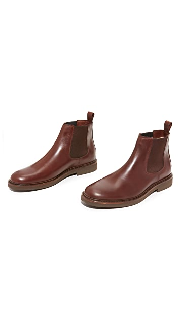 A.P.C. Grant Lined Chelsea Boots