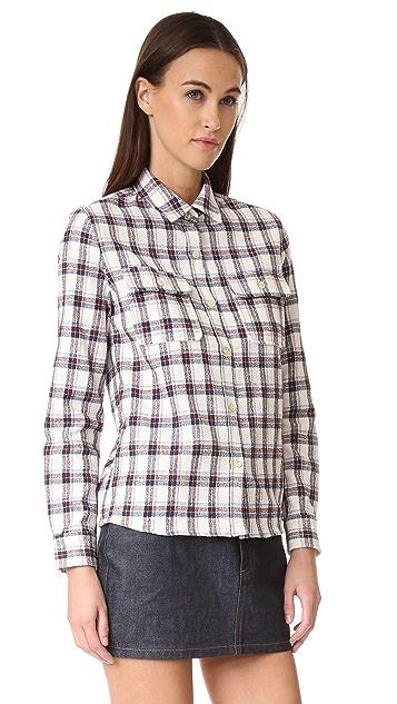A.P.C. Girl Button Down Shirt