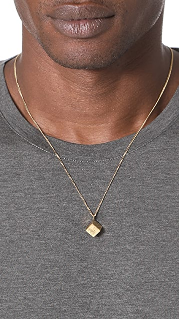 A.P.C. Collier Rubik Necklace