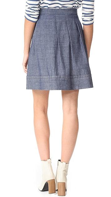 A.P.C. Ombrelle Skirt