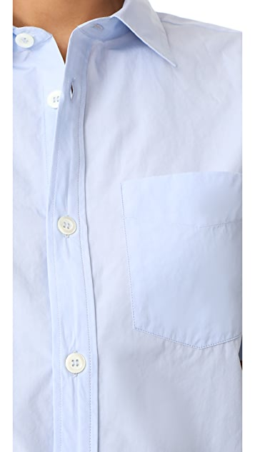 A.P.C. Dana Short Sleeve Button Down Shirt