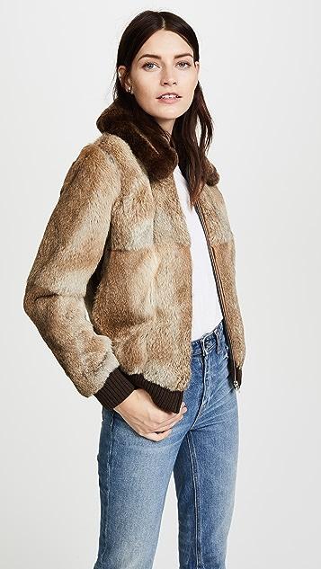 A.P.C. Brigit Fur Jacket