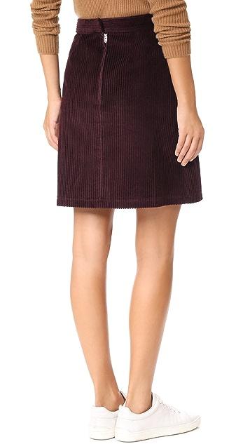 A.P.C. Solene Skirt