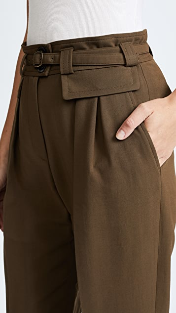 A.P.C. Isa Belted Trousers