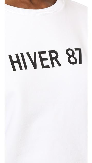 A.P.C. Hiver 1987 Archive Sweatshirt