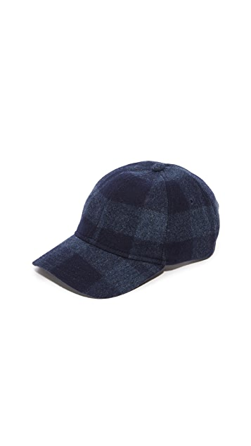 A.P.C. Louis Plaid Cap
