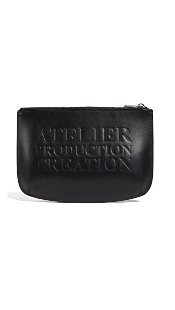 A.P.C. Atelier Leather Pouch