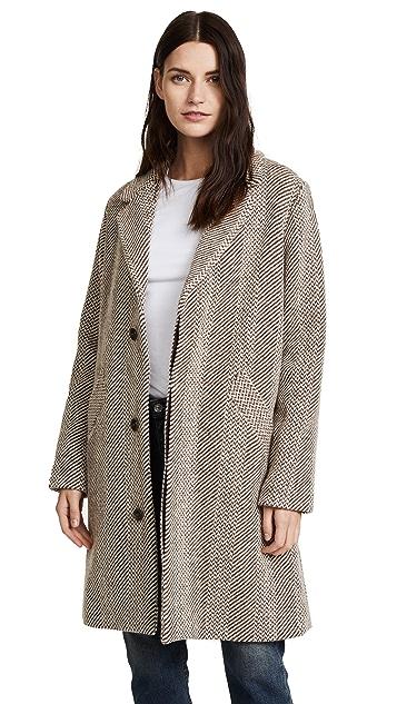 A.P.C. Silvana Tweed Coat