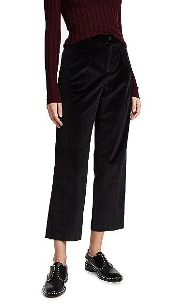 A.P.C. Amalfi Velvet Trousers