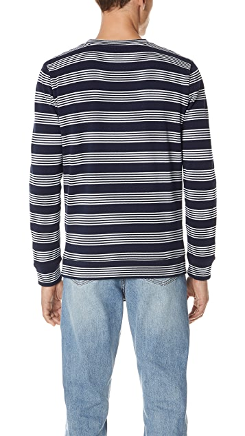 A.P.C. Jeremie Long Sleeve Tee