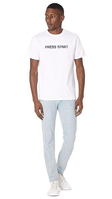 A.P.C. Press Start Tee