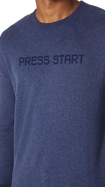 A.P.C. Press Start Sweatshirt