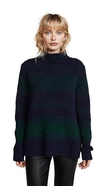 A.P.C. Saskia Intarsia Sweater