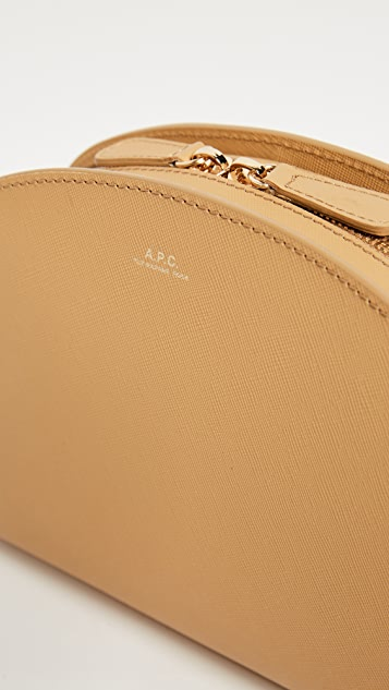 A.P.C. Half Moon Cross Body Bag