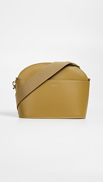 A.P.C. Gabrielle Shoulder Bag - Camel