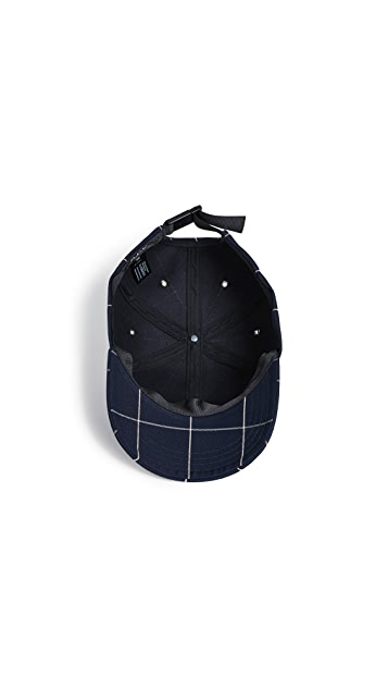 A.P.C. Alex Plaid Hat