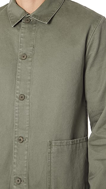 A.P.C. Kerlouan Shirt Jacket