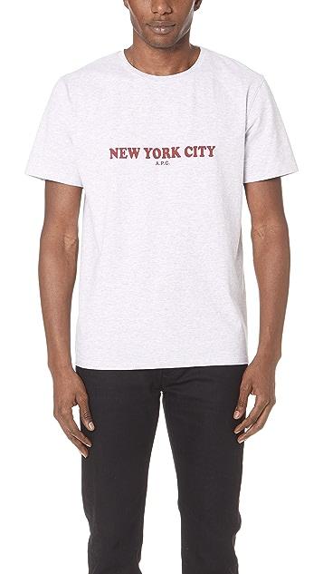 A.P.C. New York Tee