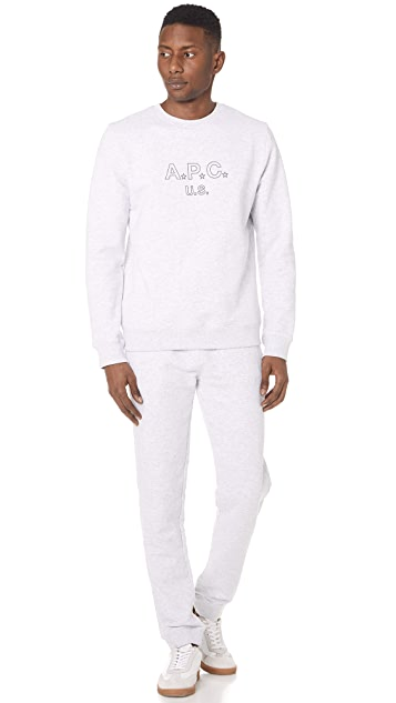 A.P.C. US Star Sweatshirt