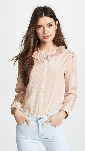 A.P.C. Josephine Button Down Shirt