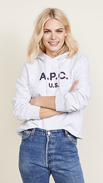 A.P.C. U.S.A. Hoodie