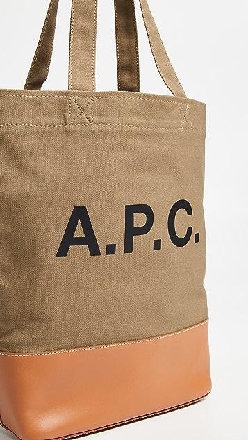 A.P.C. Cabas Axel Tote