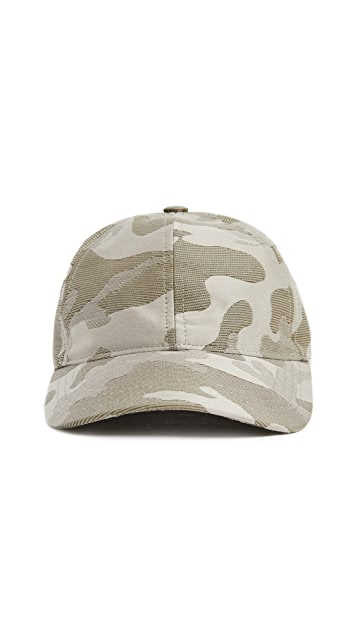 A.P.C. Camouflage Baseball Cap