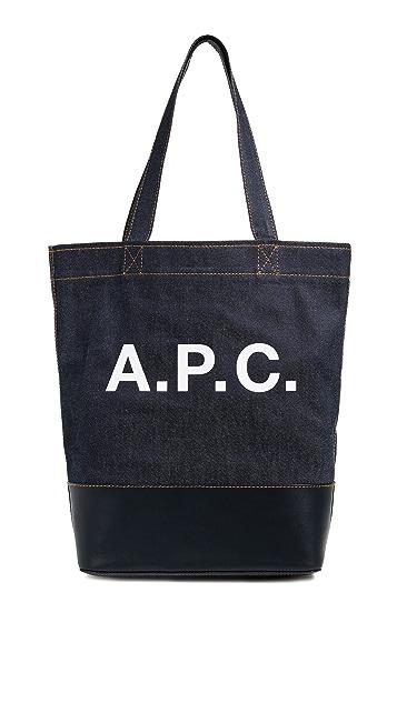 A.P.C. Axel Tote Bag