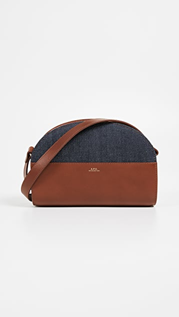 A.P.C. Sac Demi Lune Bag