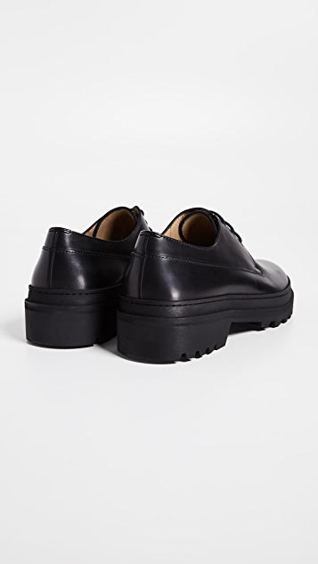 A.P.C. Leopold Lug Sole Lace Up Shoes