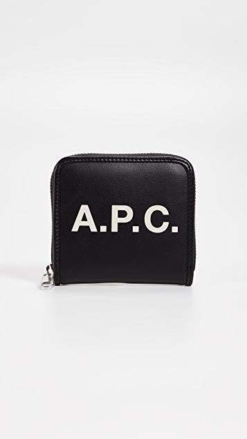 A.P.C. Morgan Zip Wallet