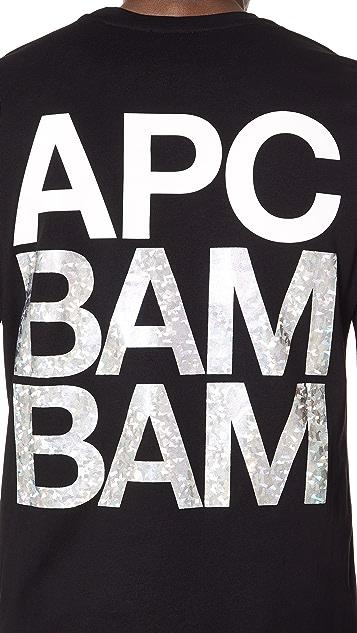 A.P.C. BAM BAM Long Sleeve Tee