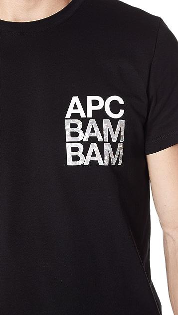 A.P.C. BAM BAM Short Sleeve Tee