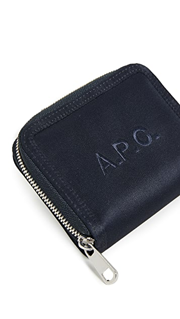 A.P.C. Compact Malone Wallet