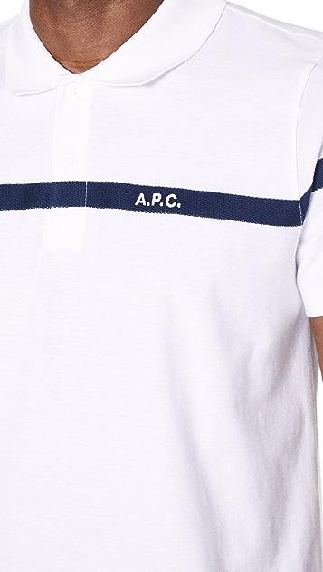 A.P.C. Henri Polo Shirt