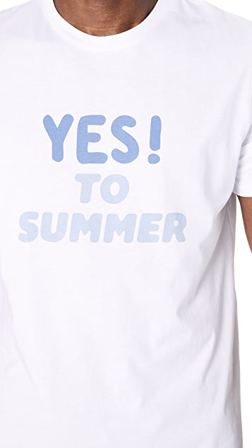 A.P.C. Yes to Summer H T-Shirt