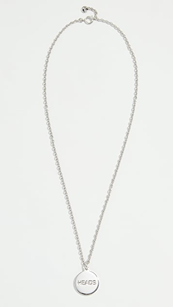 A.P.C. Heads / Tails Necklace