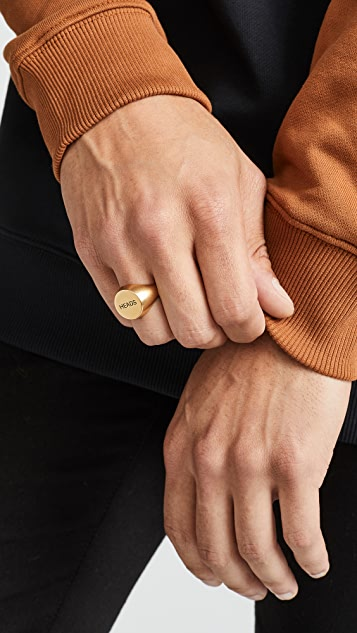 A.P.C. Heads Ring