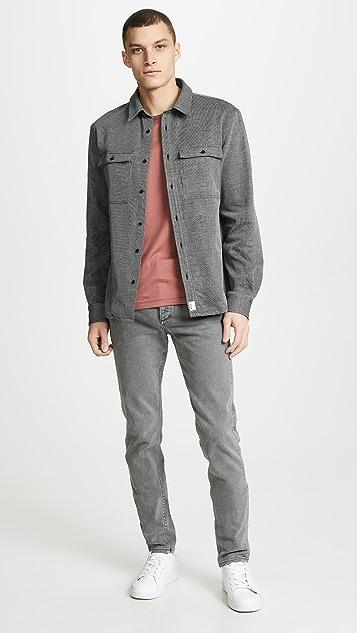 A.P.C. Long Sleeve Button Up Shirt