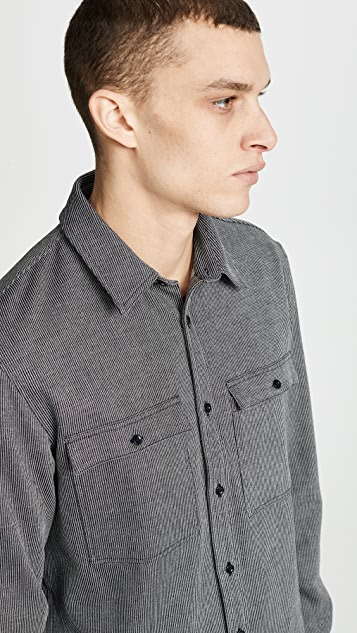 A.P.C. Long Sleeve Button Up Shirt