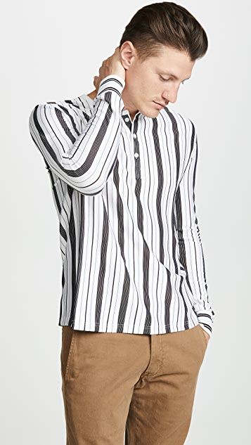 A.P.C. Long Sleeve Striped Tee