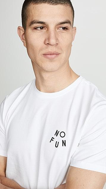 A.P.C. No Fun T-shirt