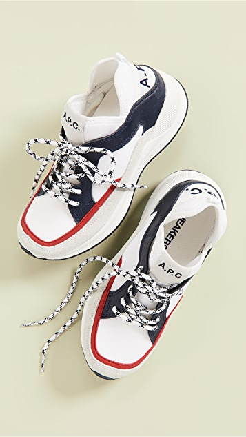 A.P.C.  Naomie 运动鞋
