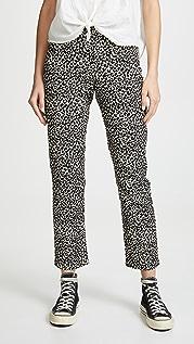 A.P.C. Basse Leopard Jeans