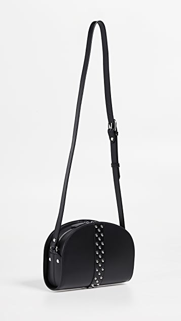 A.P.C. Studded Half Moon Bag