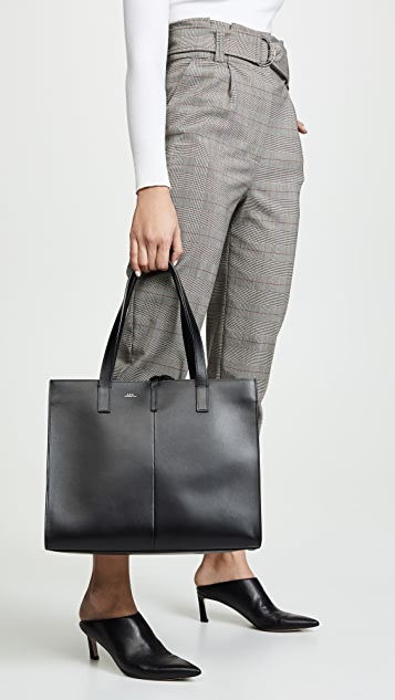 A.P.C. Emy Large Tote