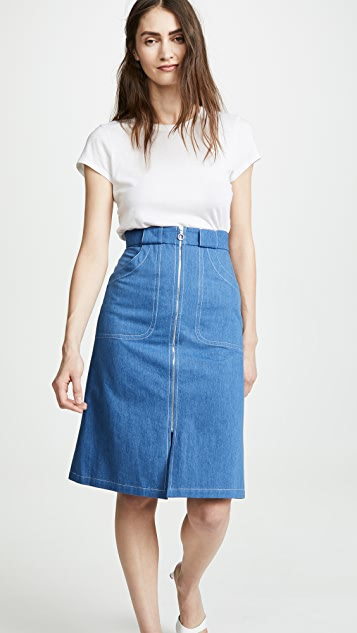 A.P.C. Jupe Celeste Skirt